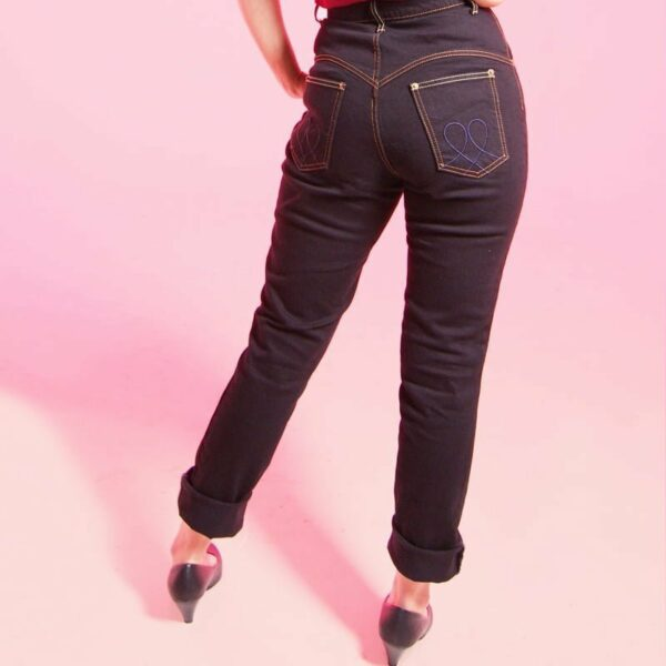 Proper Classic jeans, with front pockets, sweetheart yoke, western style back pockets and belt loops