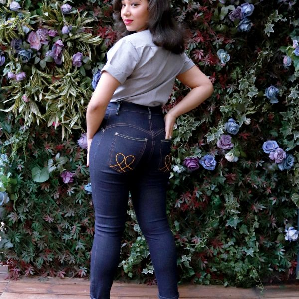 high waisted jeans for petites Polly retro super high waist jeans for petite women vintage skinny tight highwaisted jeans for petite ladies