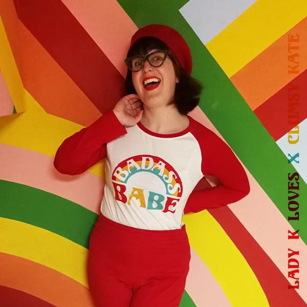 Colourful Image of retro inspired Print Designer Clumsy Kate